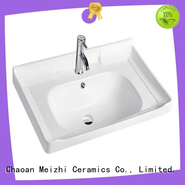 Meizhi wash basin designs with cabinet wholesale for bathroom
