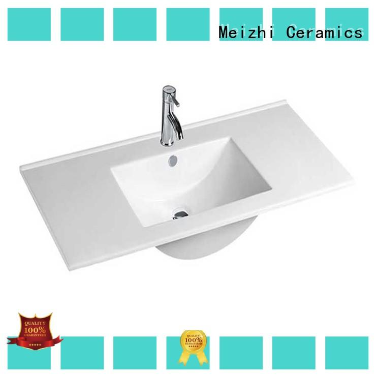 Meizhi cabinet basin with good price for washroom