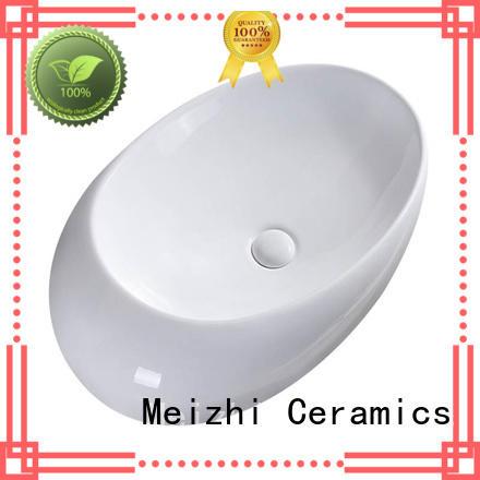elegant wash basin size customized for hotel