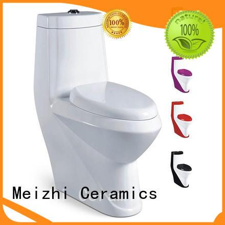 square single piece toilet customized for washroom