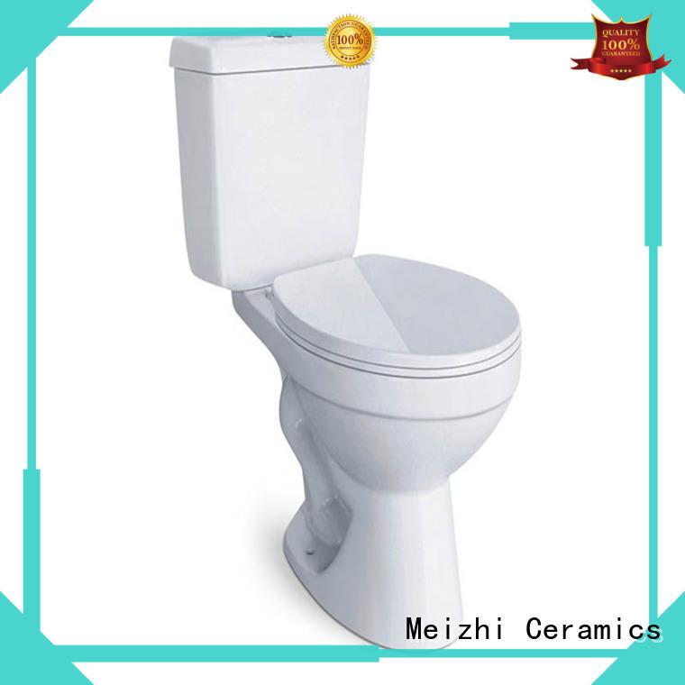 Meizhi washdown eco friendly toilet customized for bathroom