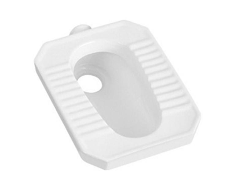 China factory cheap price porcelain squatting toilet with flush