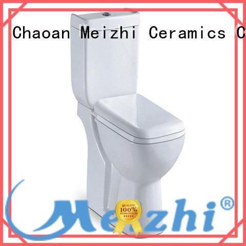 Meizhi eco flush toilet customized for washroom