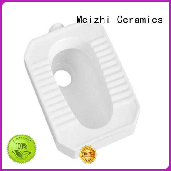 Meizhi modern design chinese squat toilet factory for hotel