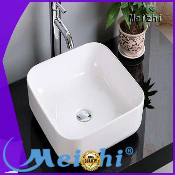 Meizhi wash basin size customized for washroom