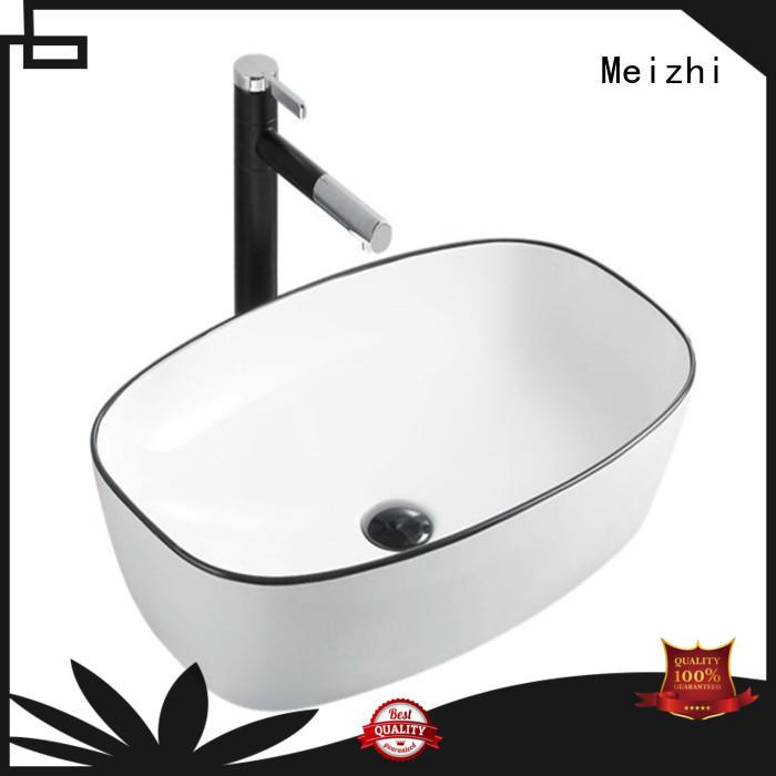 custom design black sink basin factory price for hotel