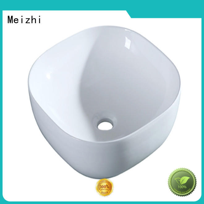 Meizhi fancy ceramic wash basin wholesale for home