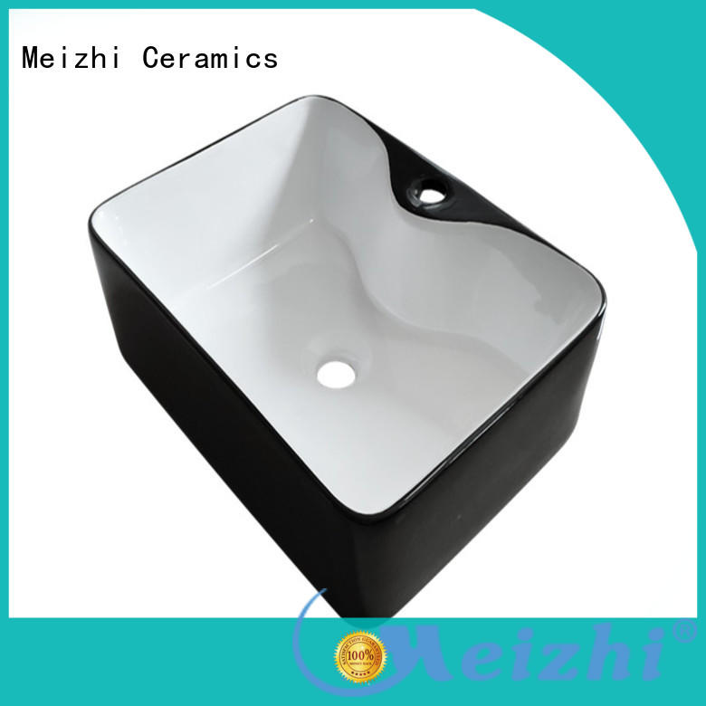 Meizhi popular black basin wholesale for washroom