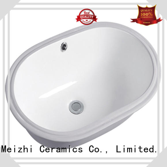 Meizhi counter top basin unit customized for bathroom
