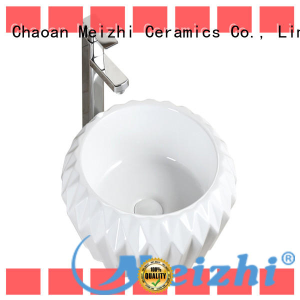 Meizhi fancy ceramic basin factory price for home