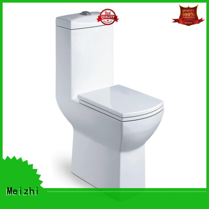 square one piece toilet manufacturer for hotel