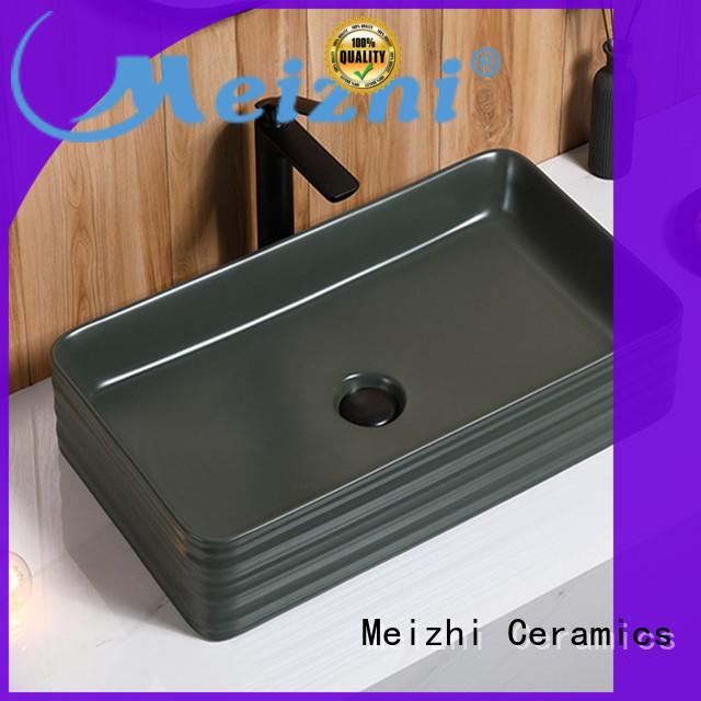 custom design black basin manufacturer for washroom