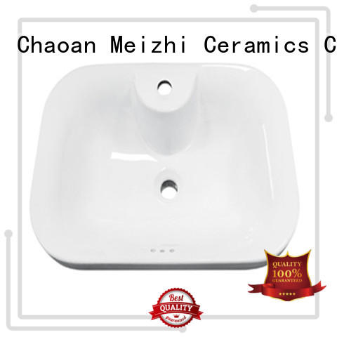 Meizhi wash basin counter wholesale for hotel