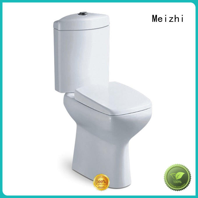 Meizhi durable toilets with buttons on top customized for hotel