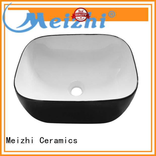 Meizhi custom design black bathroom sink manufacturer for bathroom