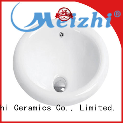 Meizhi popular above counter bathroom sink supplier for washroom