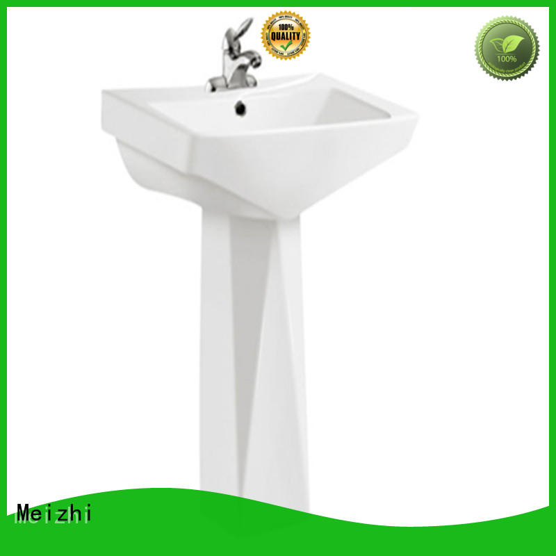 high quality pedestal lavatory supplier for hotel