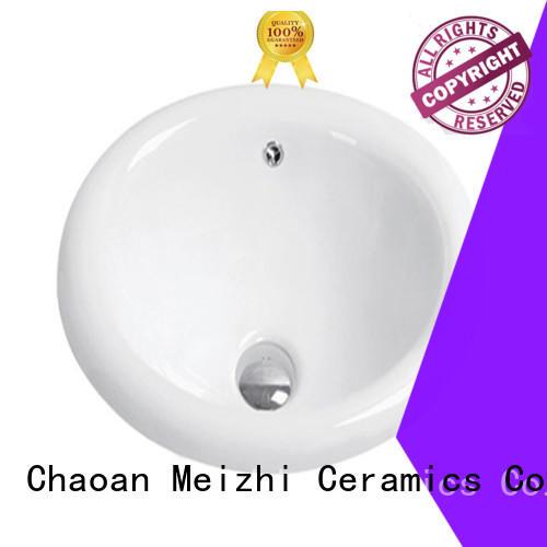 Meizhi countertop basin manufacturer for bathroom