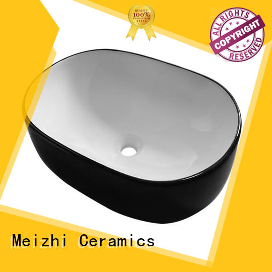 ceramic black bathroom sink wholesale for cabinet