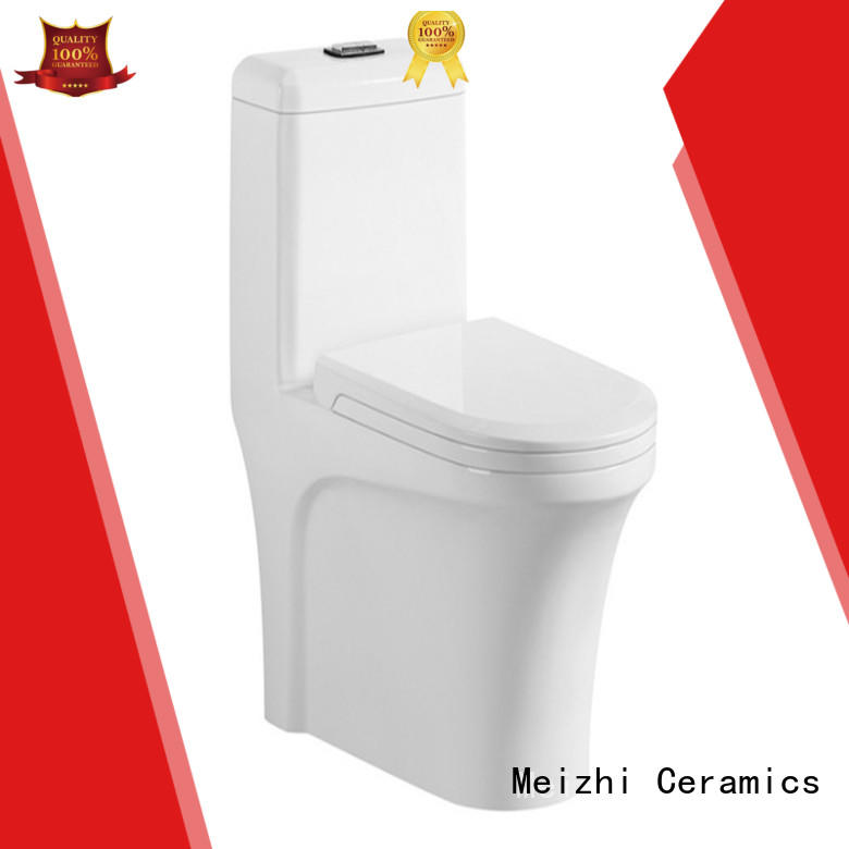 Meizhi siphonic wc toilet customized for bathroom