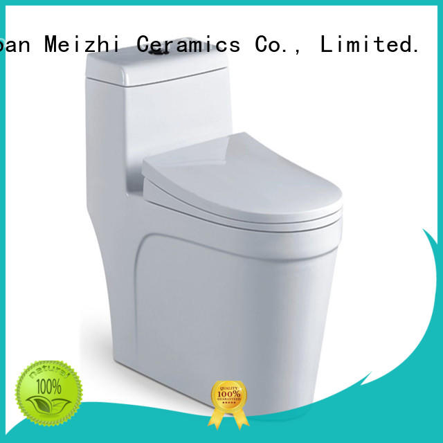 Meizhi self-cleaning one piece comfort height toilet customized for bathroom