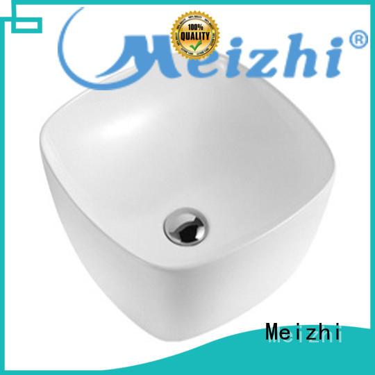 Meizhi fancy toilet basin manufacturer for home
