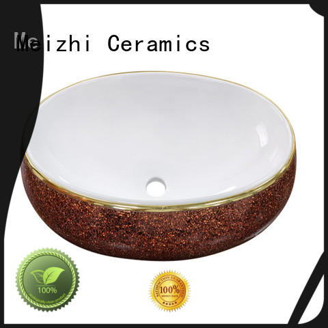 Meizhi ceramic wash basin factory price for home