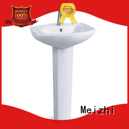 ceremic full pedestal basin directly sale for home