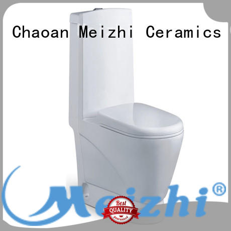 square one piece wc customized for home