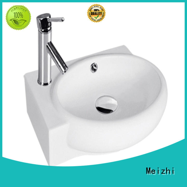 Meizhi high quality wall hung sink directly sale for bathroom