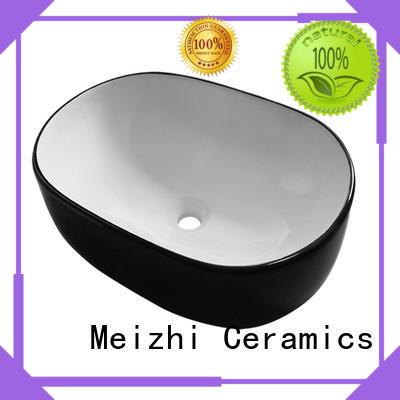 Meizhi modern black bathroom basin supplier for bathroom