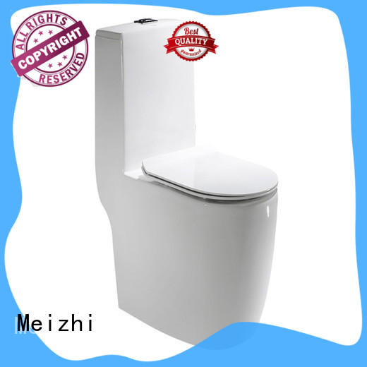 new design one piece elongated toilet supplier for washroom
