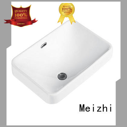 high quality above counter sink supplier for washroom