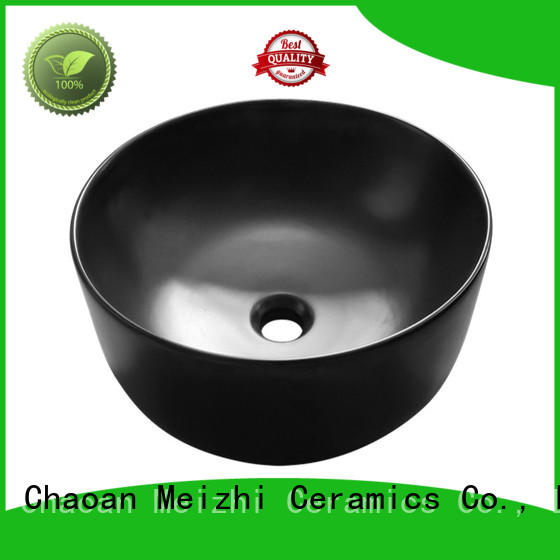 Meizhi basin black factory price for bathroom