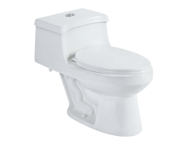 New design bathroom siphonic one piece toilet