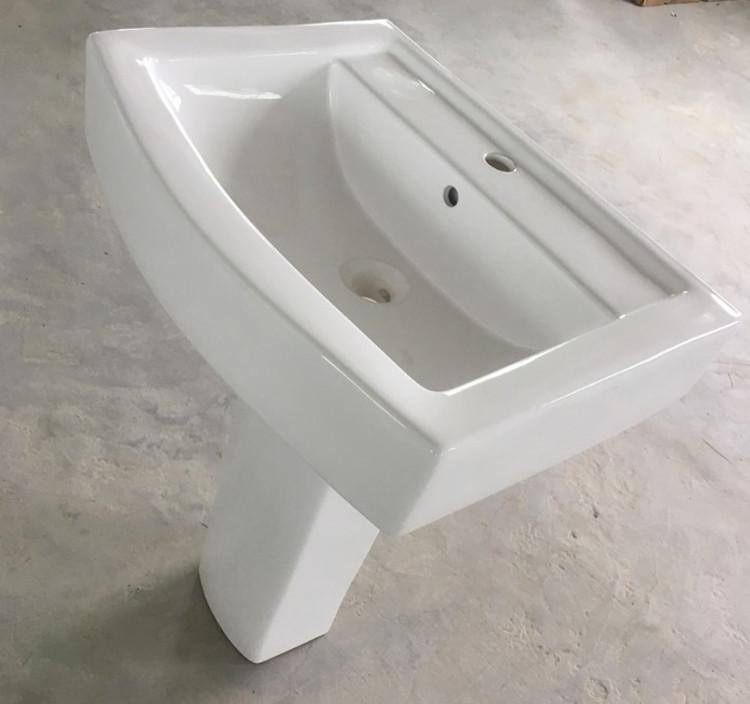 Meizhi contemporary basin and pedestal manufacturer for washroom-2