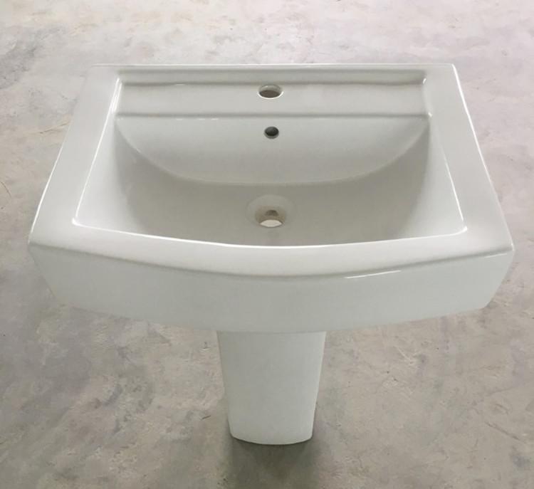 Meizhi contemporary basin and pedestal manufacturer for washroom-1