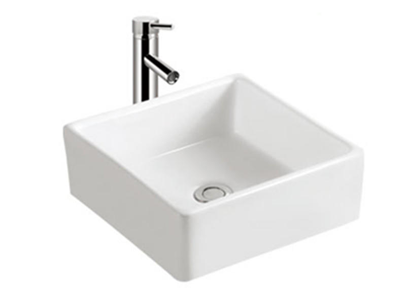 Hot Sale Ceramic Square Above Counter Basin