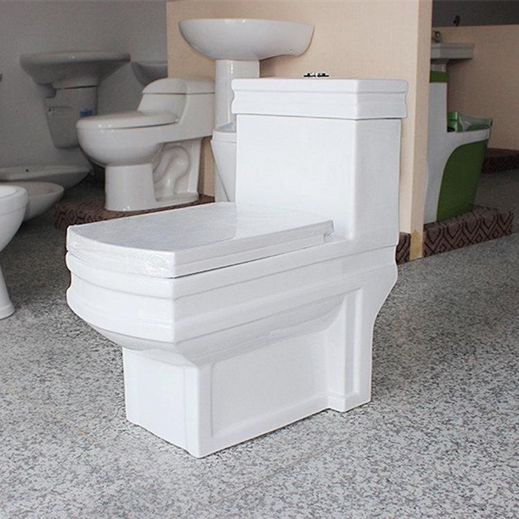 ceramic 1 piece toilet wholesale for bathroom-2