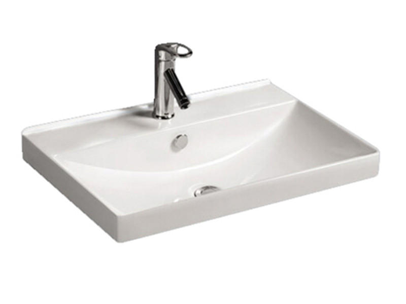 Factory Counter Top Ceramic Hand WashBasin With Good Quality