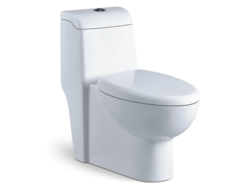 One piece siphonic ceramic high quality chinese wc toilet