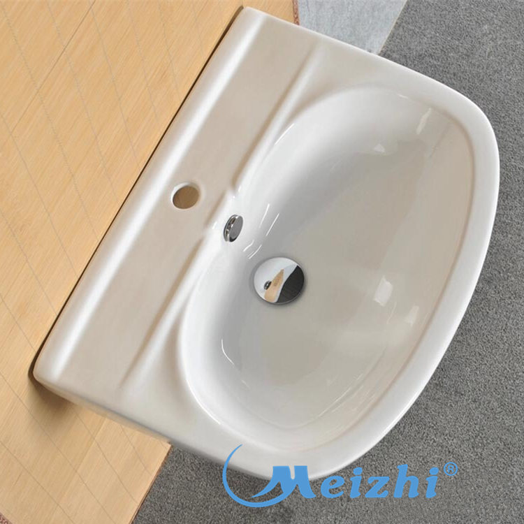 high quality full pedestal basin customized for hotel-2