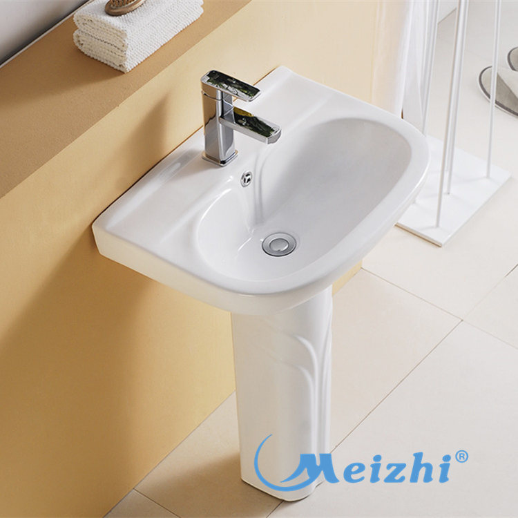 high quality full pedestal basin customized for hotel-1