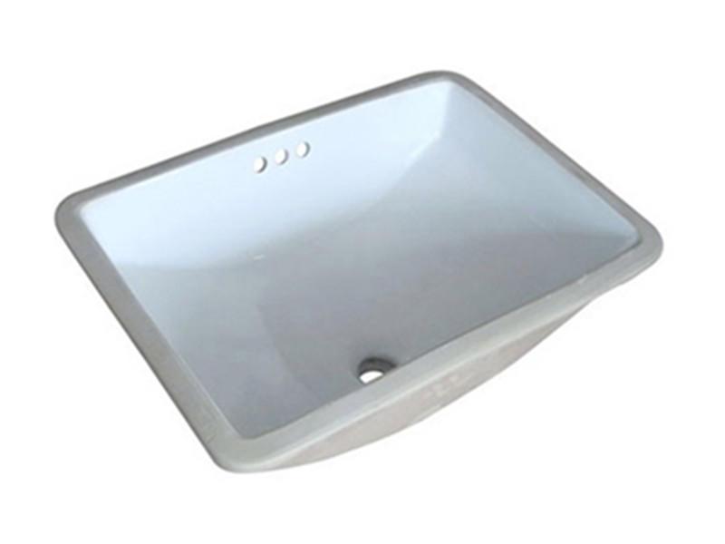 Modern undermount hand wash ceramic sink