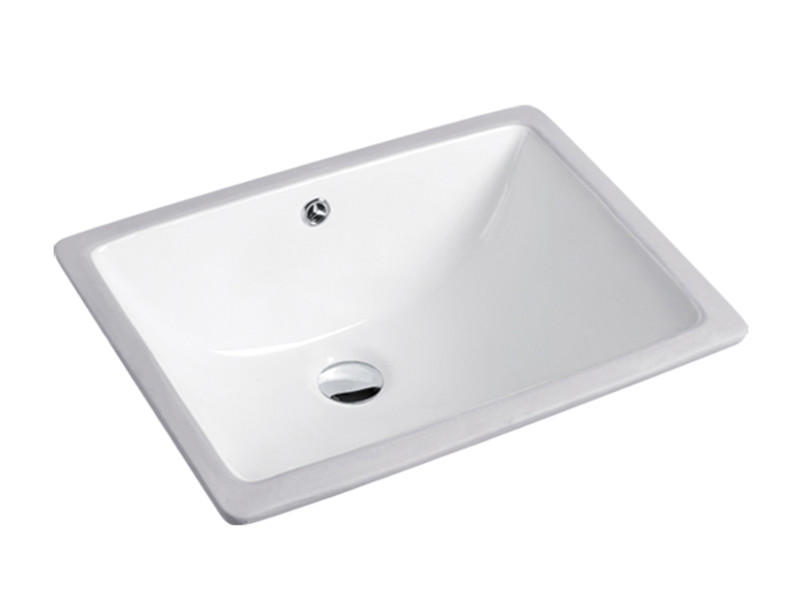 Sanitary wares bathroom under counter rectangle vessel sink