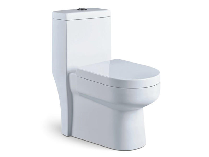 Chinese economic one piece siphonic toilet manufacturer