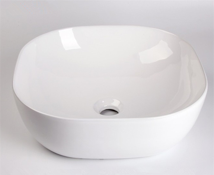 gold ceramic basin supplier for home-1