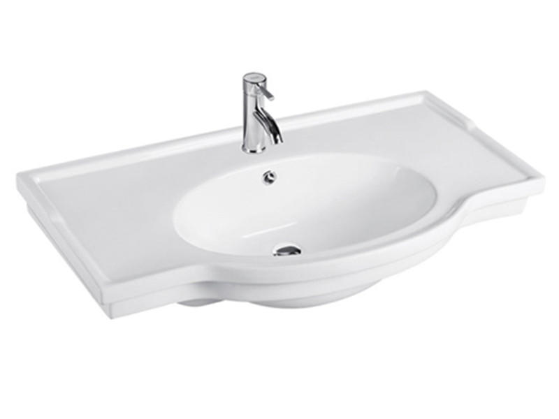 Bathroom top counter sink sanitary ware ceramic basin