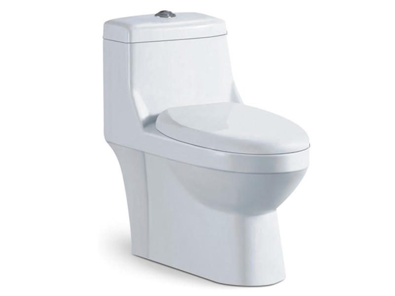 Siphonic bathroom ceramic western style toilet with factory cheap price