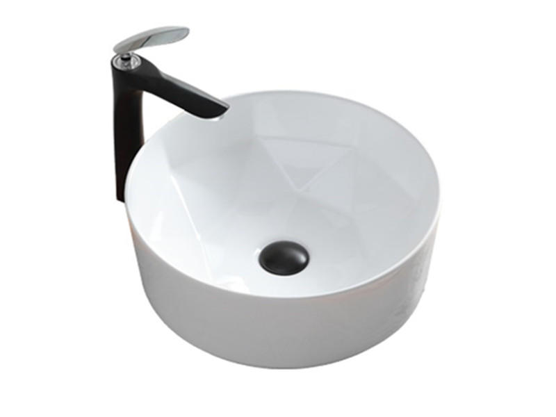 Luxury design chaozhou bathroom porcelain counter top art basin